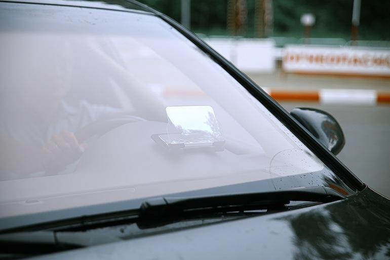 An toàn hơn với Smartphone trình chiếu trên kính lái ôtô 3