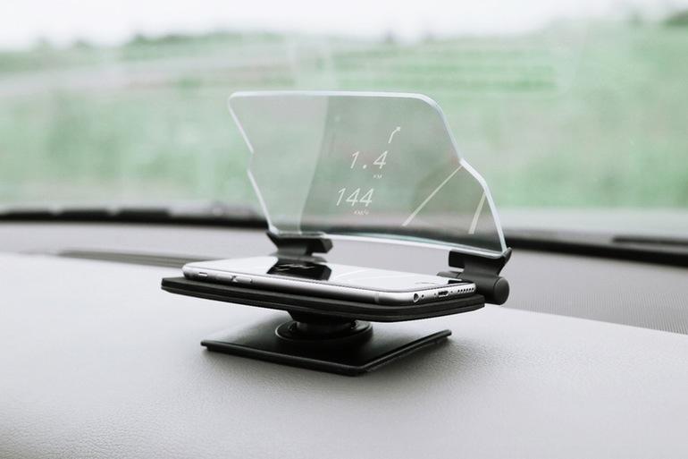 An toàn hơn với Smartphone trình chiếu trên kính lái ôtô 4