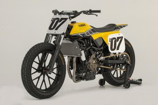 Giải mã bí ẩn của Yamaha DT-07 Flat Track Concept 4