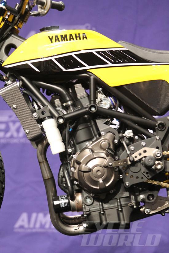 Giải mã bí ẩn của Yamaha DT-07 Flat Track Concept 2