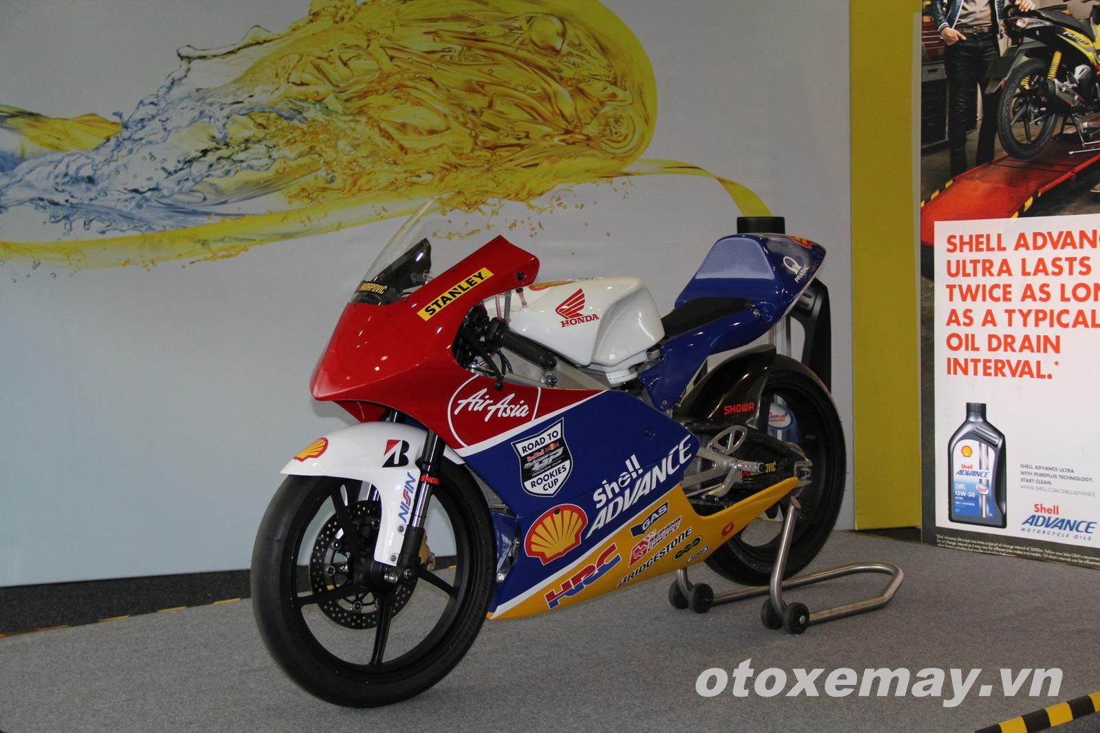 Xe đua Shell Advance Asia Talent Cup Honda NSF250R ảnh 4