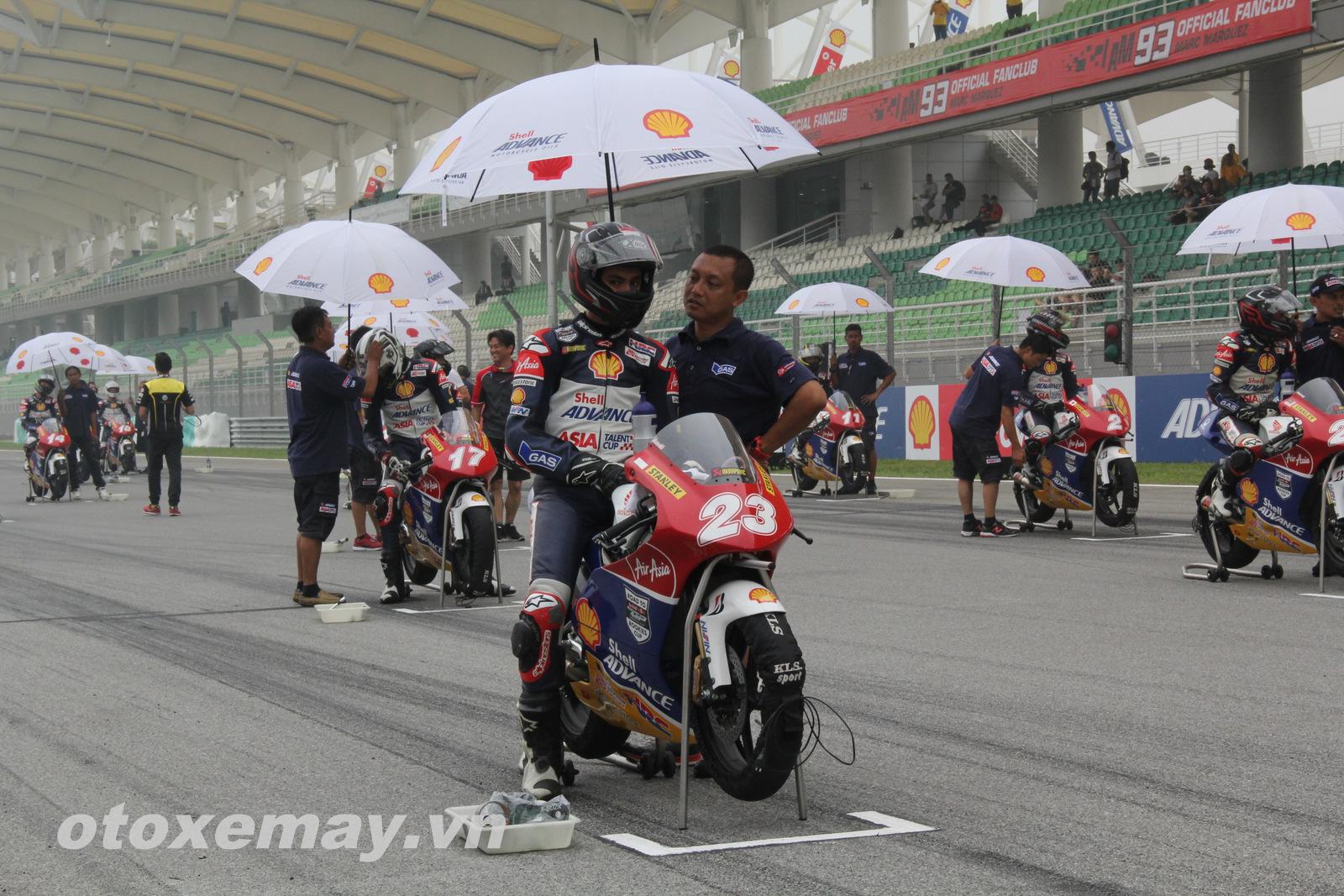 Xe đua Shell Advance Asia Talent Cup Honda NSF250R ảnh 1