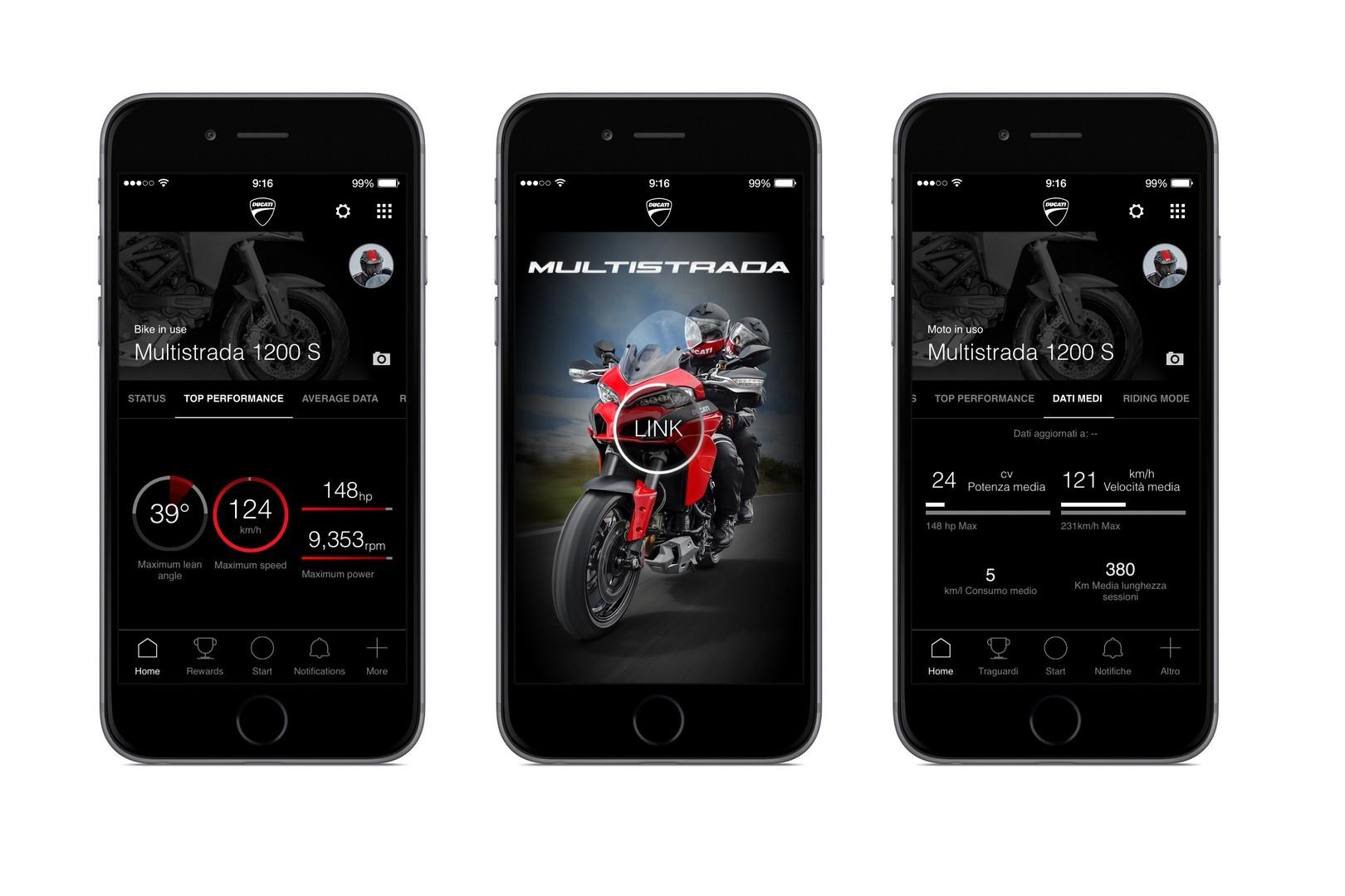 Xe Ducati có ứng dụng kết nối smartphone - ảnh2