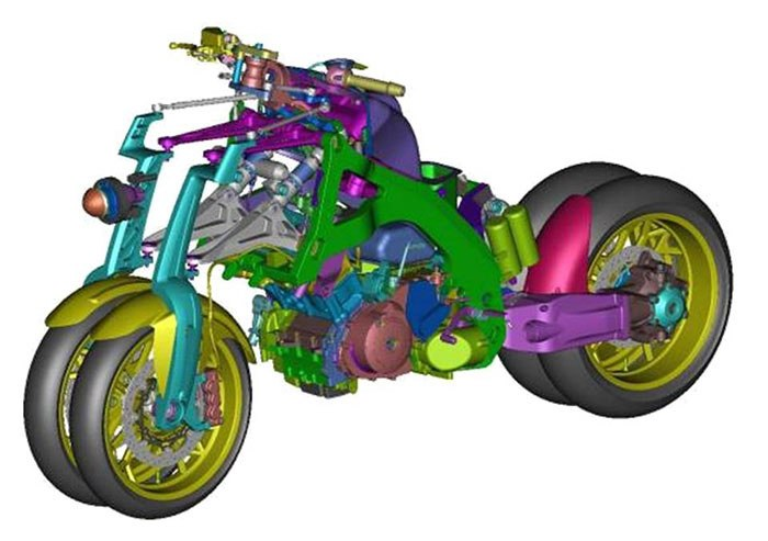 Tận mắt xem môtô 4 bánh Yamaha vận hành 3