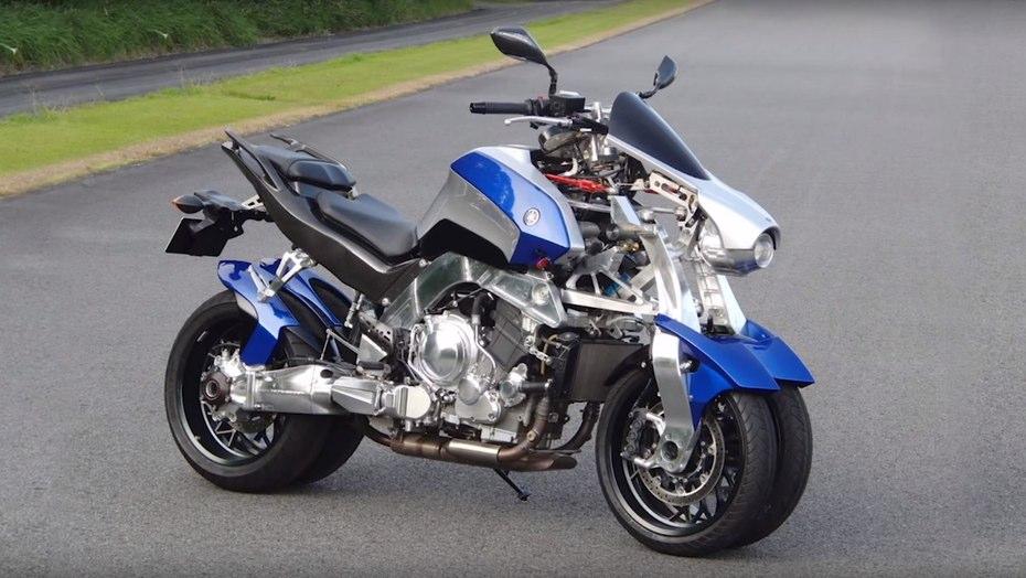 Tận mắt xem môtô 4 bánh Yamaha vận hành 4
