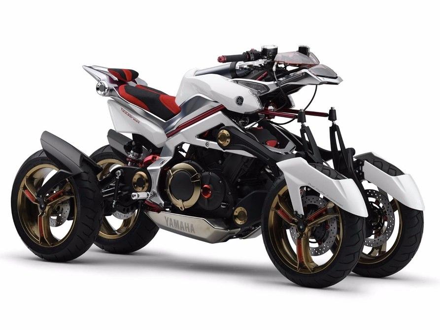 Tận mắt xem môtô 4 bánh Yamaha vận hành 1