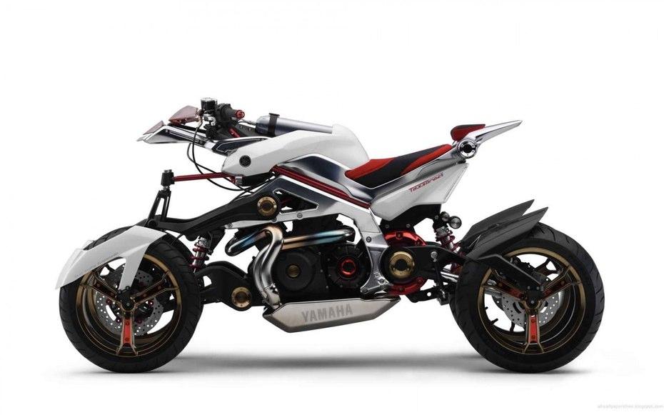 Tận mắt xem môtô 4 bánh Yamaha vận hành 2