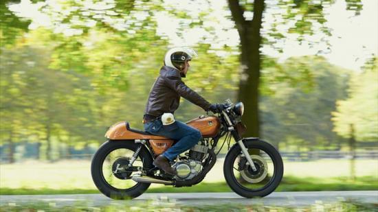 Dân buôn Yamaha bỏ bán hàng đi thi độ xe 6