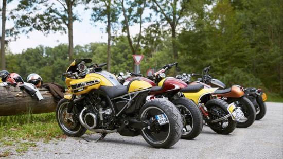 Dân buôn Yamaha bỏ bán hàng đi thi độ xe 1
