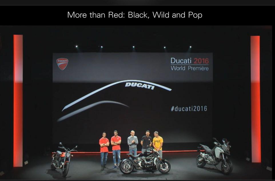 Trực tiếp tường thuật lễ ra mắt 3 dòng xe bí ẩn của Ducati 9