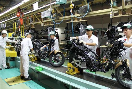 Honda Việt Nam đẩy mạnh xuất khẩu xe ga ra thị trường thế giới