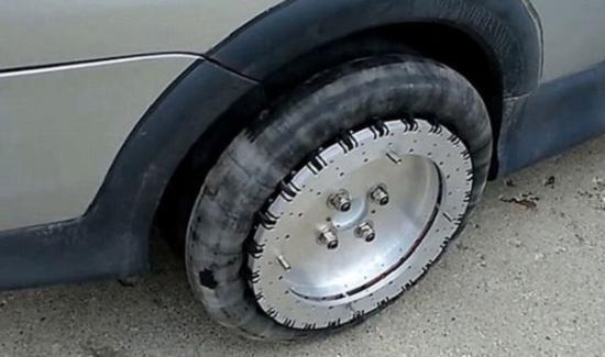 Bánh xe Liddiar Wheels di chuyển đa hướng