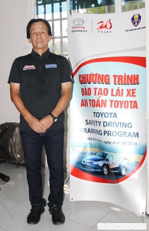Toyota huấn luyện kỹ năng lái xe tại TP.HCM_ảnh2