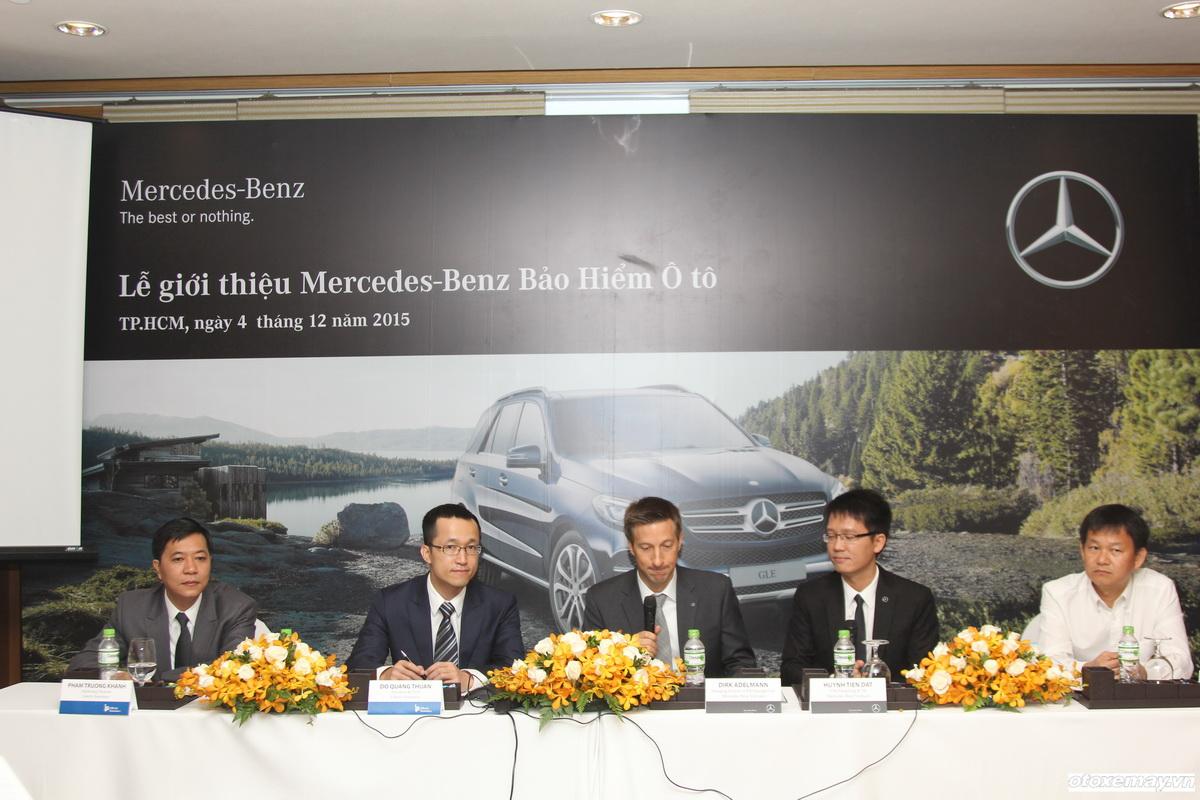 Ra mắt Bảo hiểm Ô tô Mercedes tại Việt Nam_1