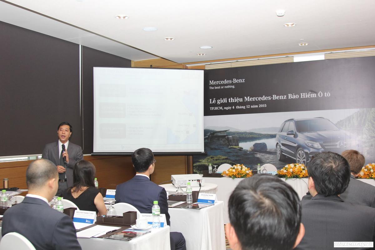 Ra mắt Bảo hiểm Ô tô Mercedes tại Việt Nam_2