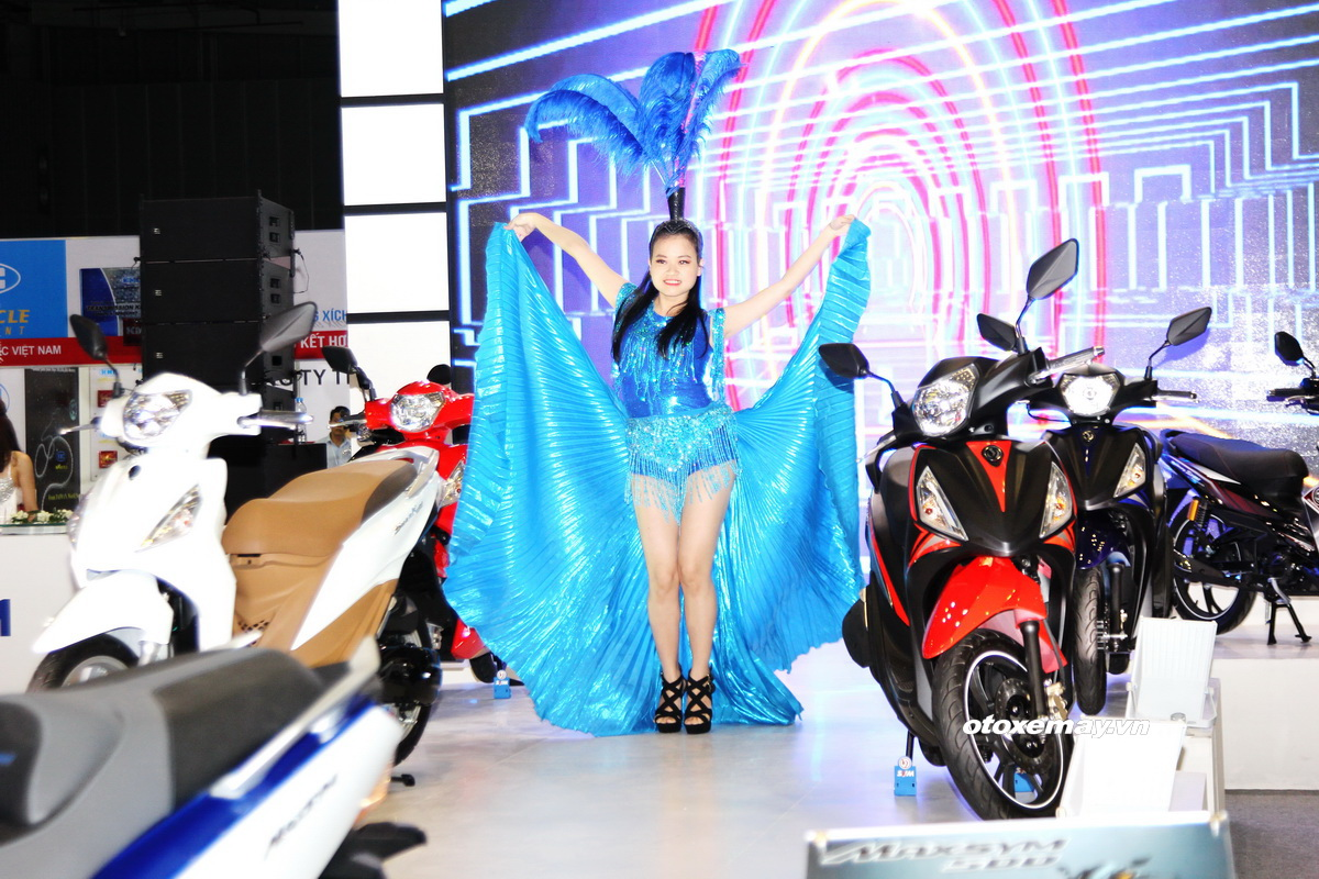 SYM gây bất ngờ với nhiều mẫu xe đa dạng tại triển lãm xe máy 2016_ảnh1