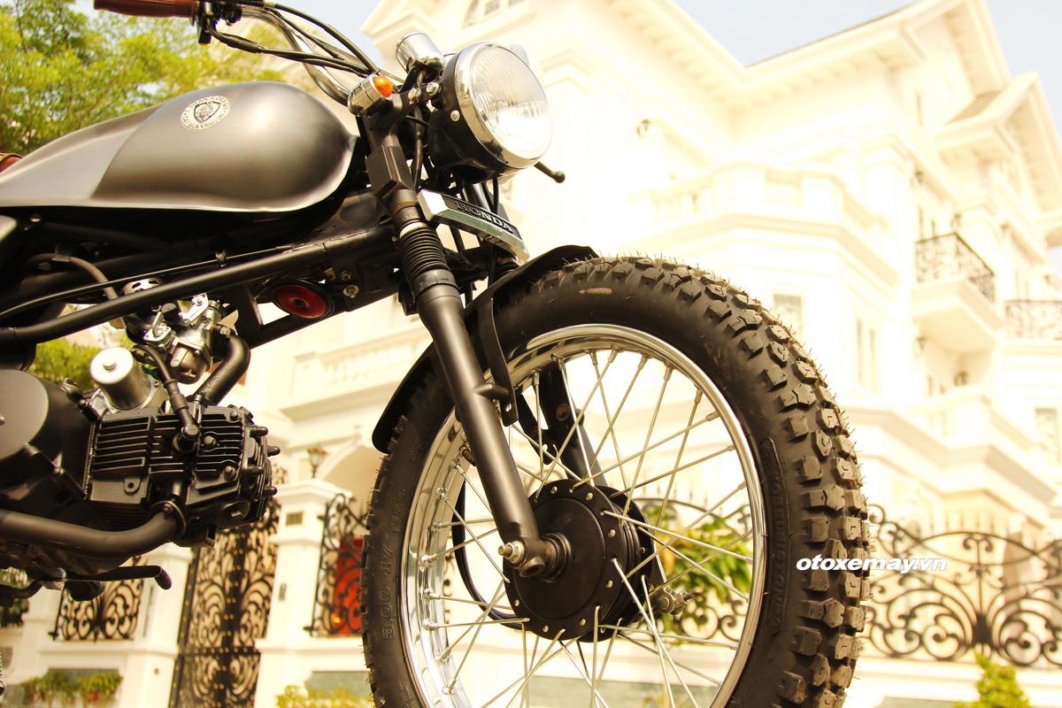 Biker Sài Gòn phiêu lãng với Honda Win độ Tracker_6