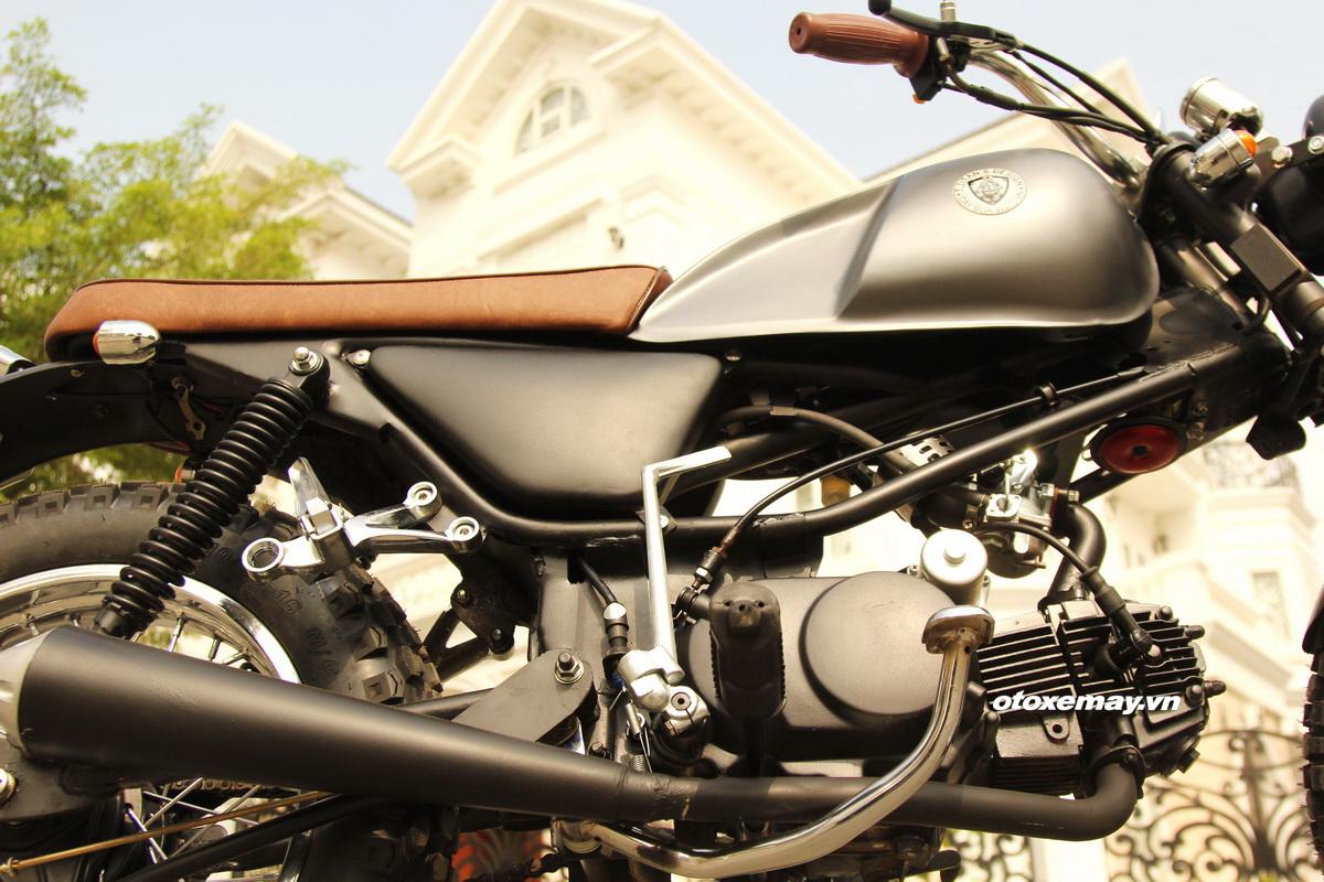 Biker Sài Gòn phiêu lãng với Honda Win độ Tracker_13