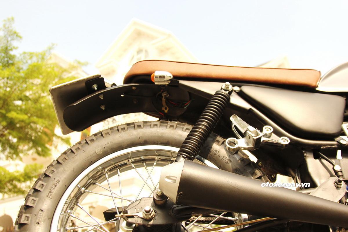 Biker Sài Gòn phiêu lãng với Honda Win độ Tracker_14