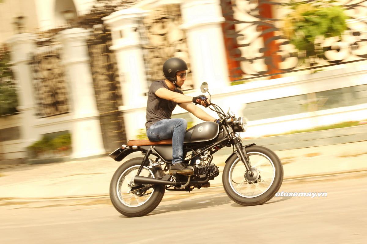 Biker Sài Gòn phiêu lãng với Honda Win độ Tracker_2