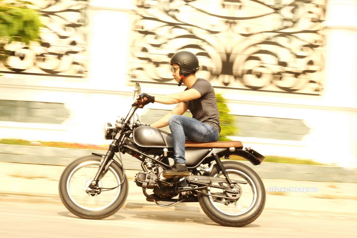 Biker Sài Gòn phiêu lãng với Honda Win độ Tracker_16
