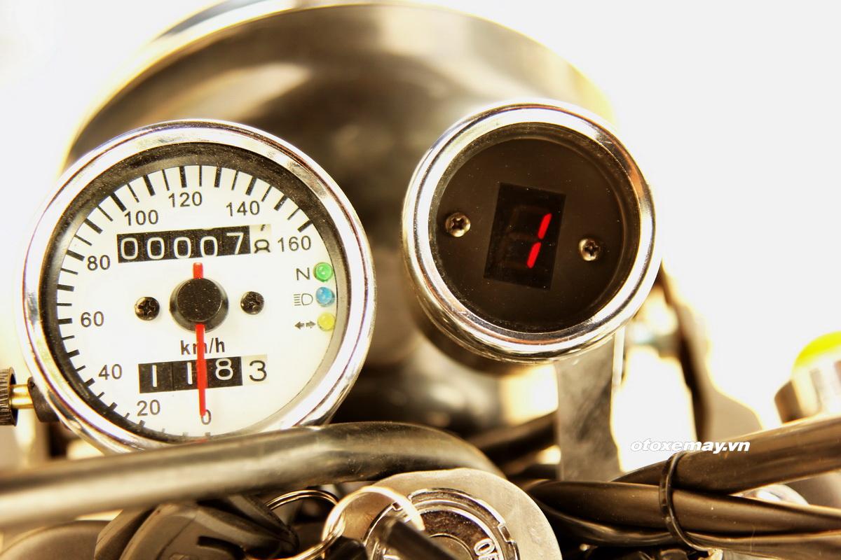 Biker Sài Gòn phiêu lãng với Honda Win độ Tracker_9