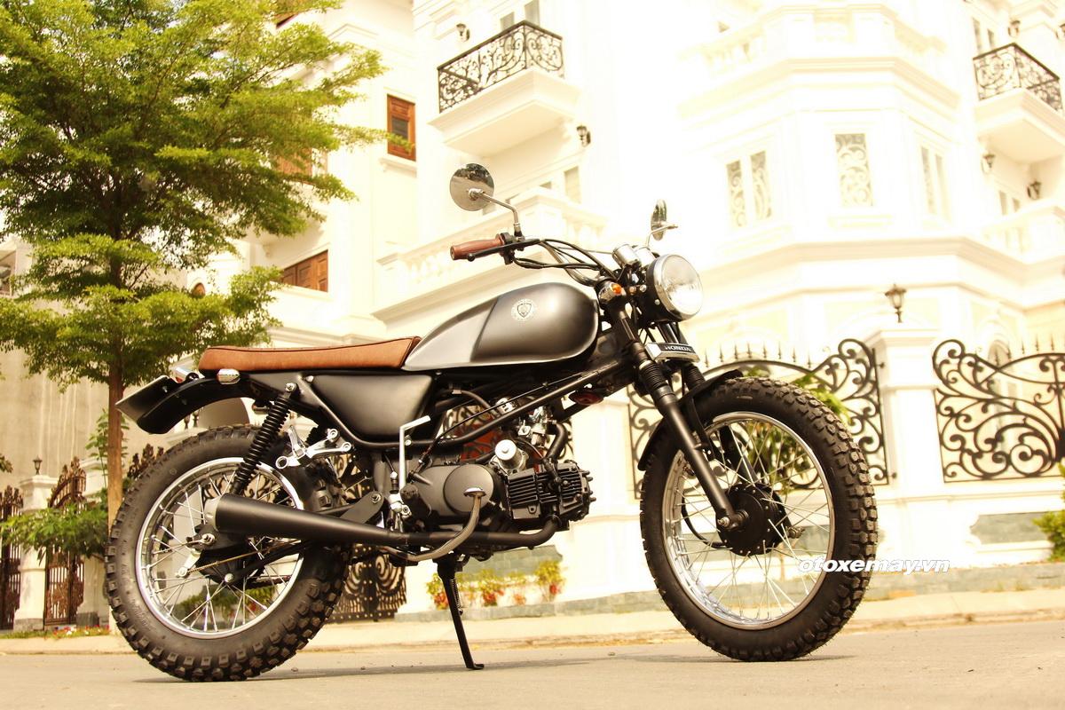Biker Sài Gòn phiêu lãng với Honda Win độ Tracker_1