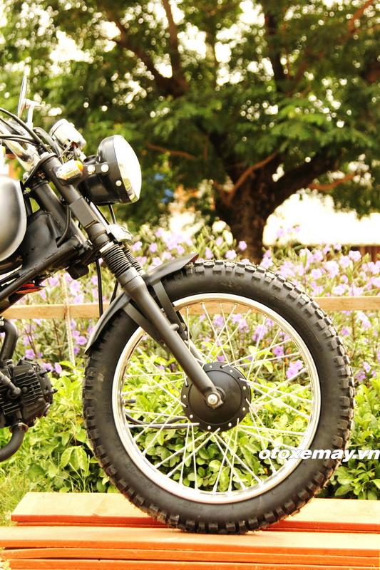 Biker Sài Gòn phiêu lãng với Honda Win độ Tracker_8