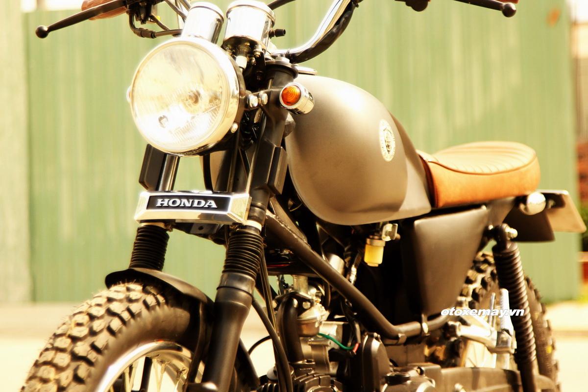Biker Sài Gòn phiêu lãng với Honda Win độ Tracker_5