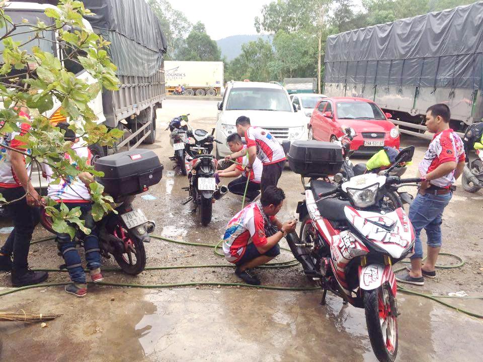 Hội phượt Exciter xuyên Việt xả stress trên đường thiên lý_7
