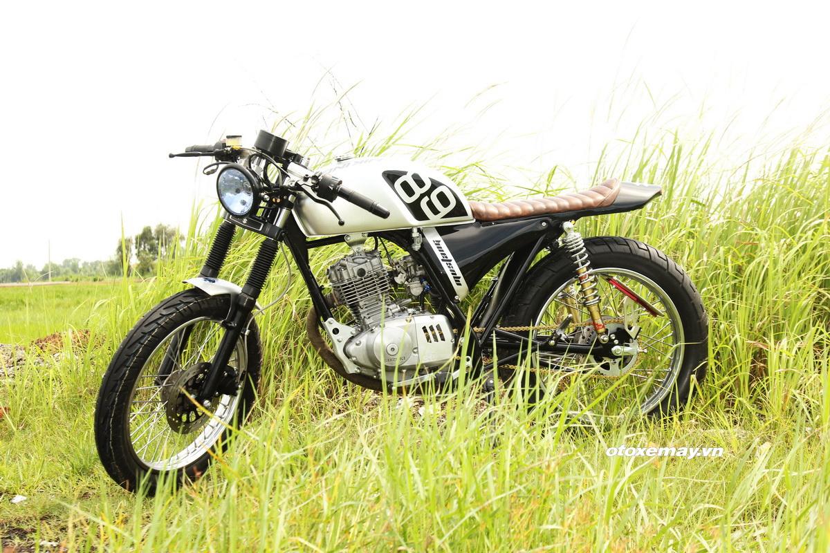 "Cafe Racer Suzuki GN125 kiểu mới giá ""sinh viên"" _2"