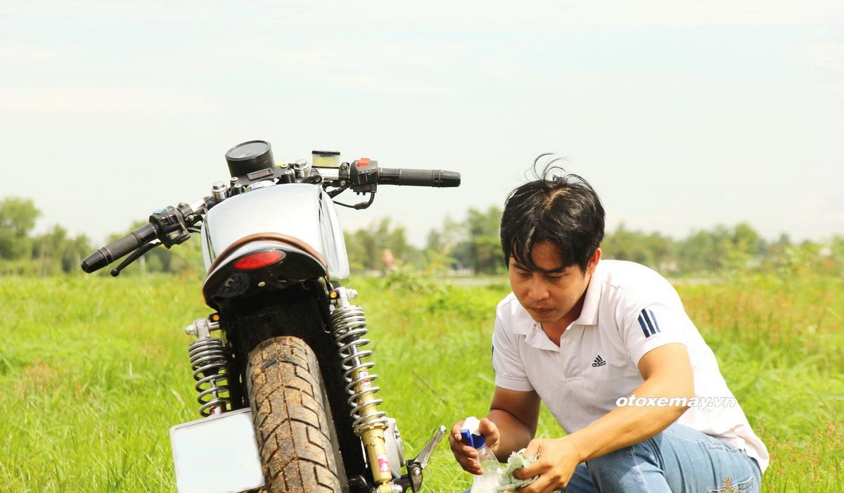 "Cafe Racer Suzuki GN125 kiểu mới giá ""sinh viên"" _20"