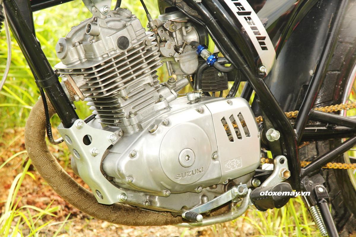 "Cafe Racer Suzuki GN125 kiểu mới giá ""sinh viên"" _14"