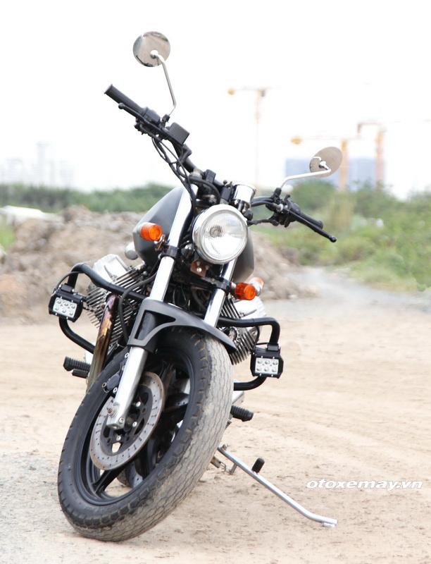 Bất ngờ mô tô cổ dáng ngon Moto Guzzi giá chỉ 100 triệu đồng_4