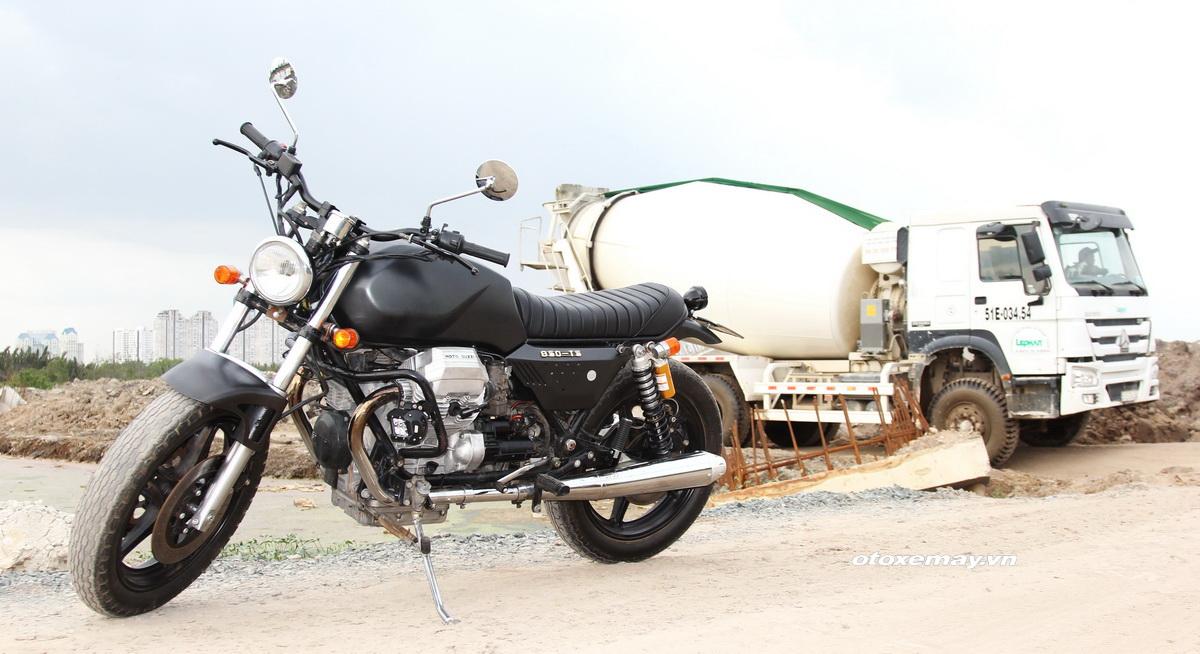 Bất ngờ mô tô cổ dáng ngon Moto Guzzi giá chỉ 100 triệu đồng_5