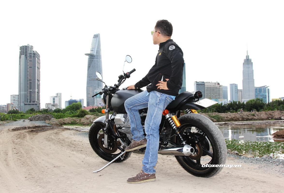 Bất ngờ mô tô cổ dáng ngon Moto Guzzi giá chỉ 100 triệu đồng_13