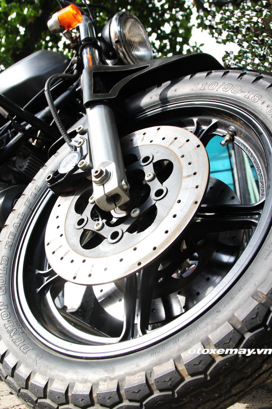 Bất ngờ mô tô cổ dáng ngon Moto Guzzi giá chỉ 100 triệu đồng_6