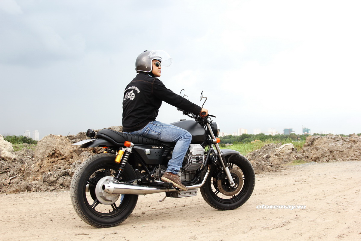 Bất ngờ mô tô cổ dáng ngon Moto Guzzi giá chỉ 100 triệu đồng_16