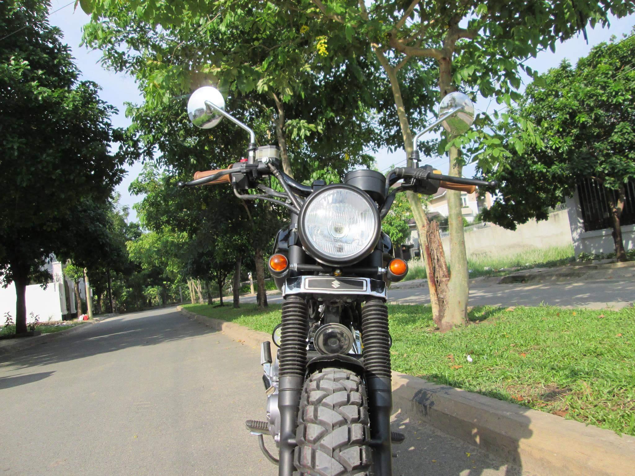 Thú vị nakedbike Suzuki EN 150 độ Tracker tại Sài Gòn_3