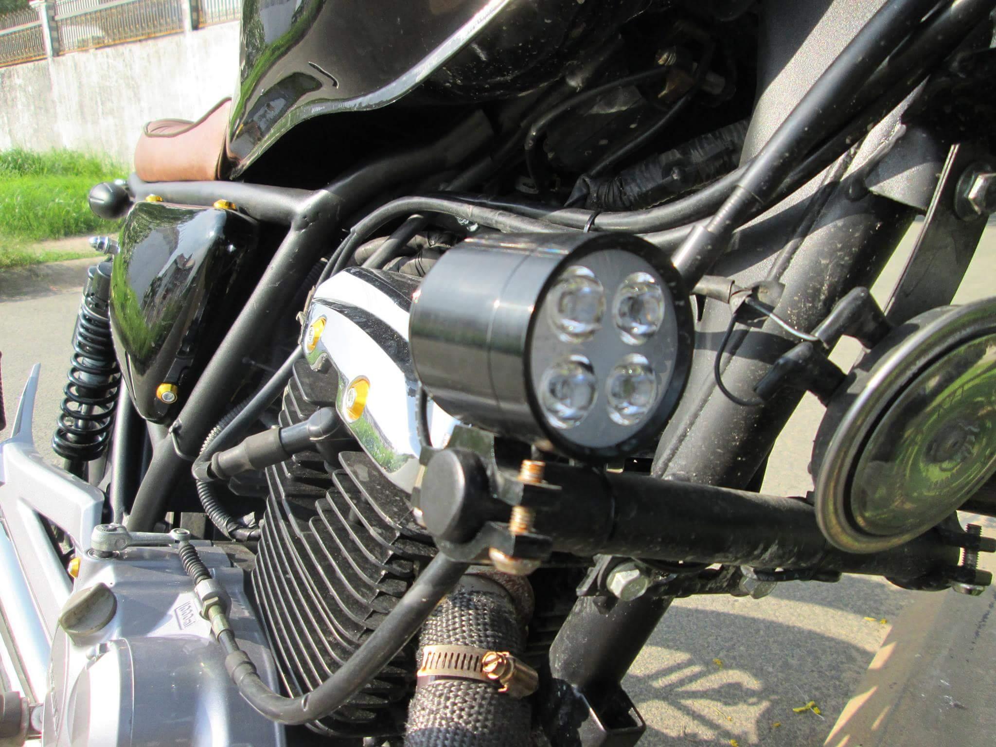 Thú vị nakedbike Suzuki EN 150 độ Tracker tại Sài Gòn_9