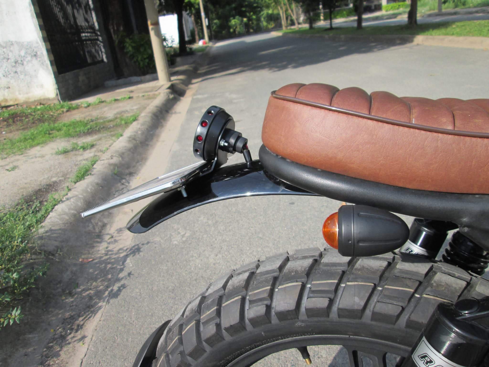 Thú vị nakedbike Suzuki EN 150 độ Tracker tại Sài Gòn_13