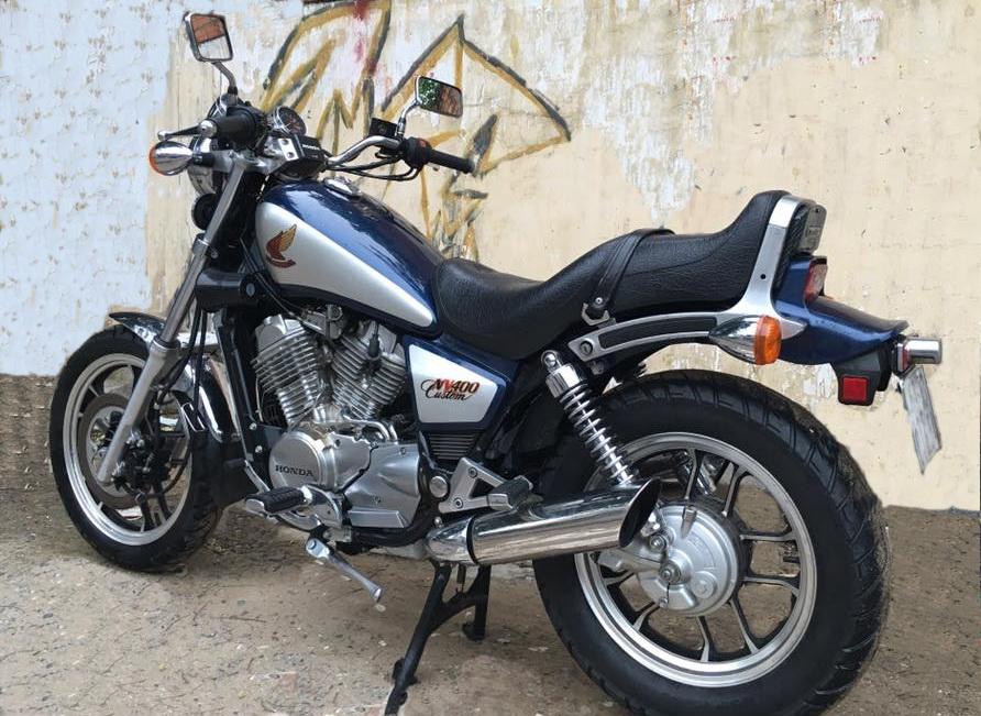 Biker Việt săn cruiser hàng hiếm Honda NV400_4