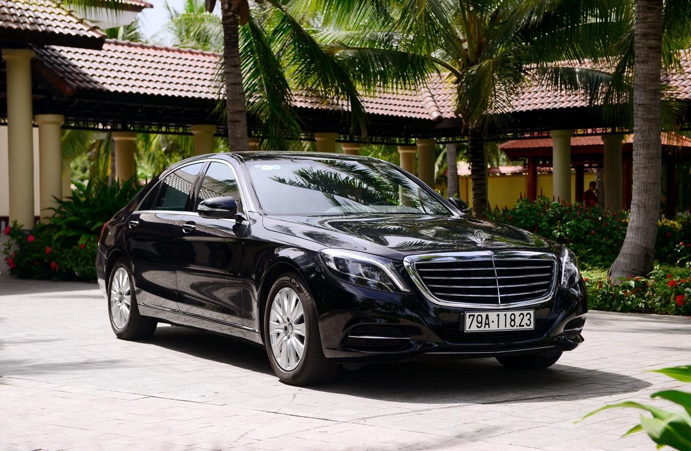 Khám phá đẳng cấp Mercedes S-Class phục vụ hệ thống Vinpearl_7