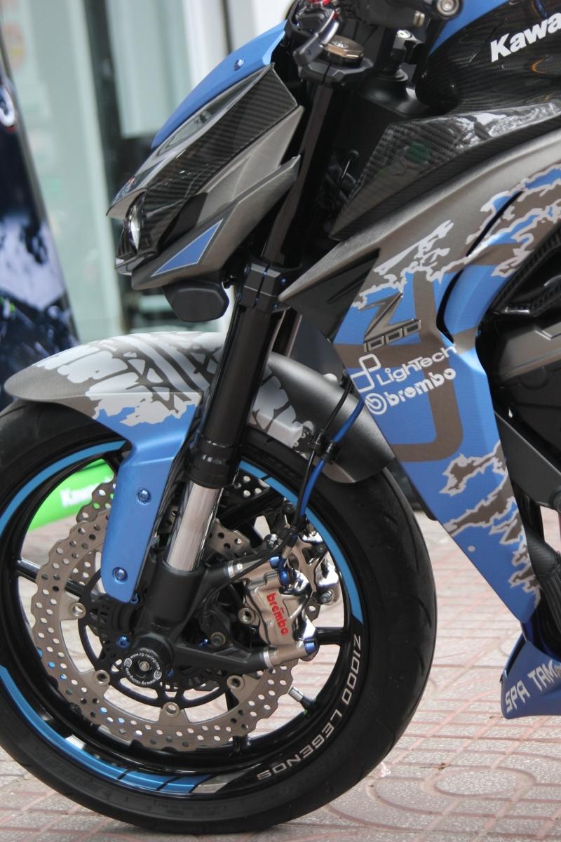 Tân trang Kawasaki Z1000 đón năm mới_14