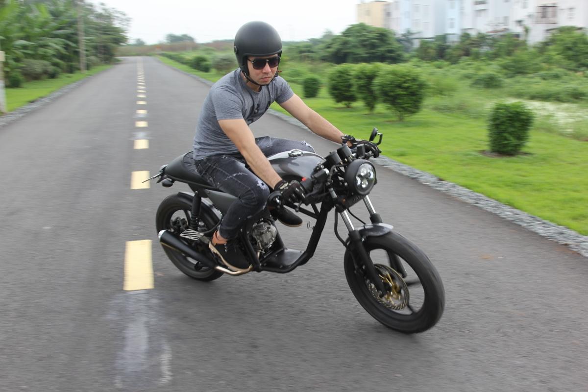 Yamaha Nouvo khơi mào xe ga độ Cafe Racer tại Việt Nam_20