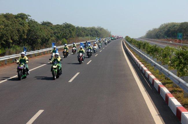 Cho phép xe máy được chạy trên cao tốc TP.HCM – Long Thành_1