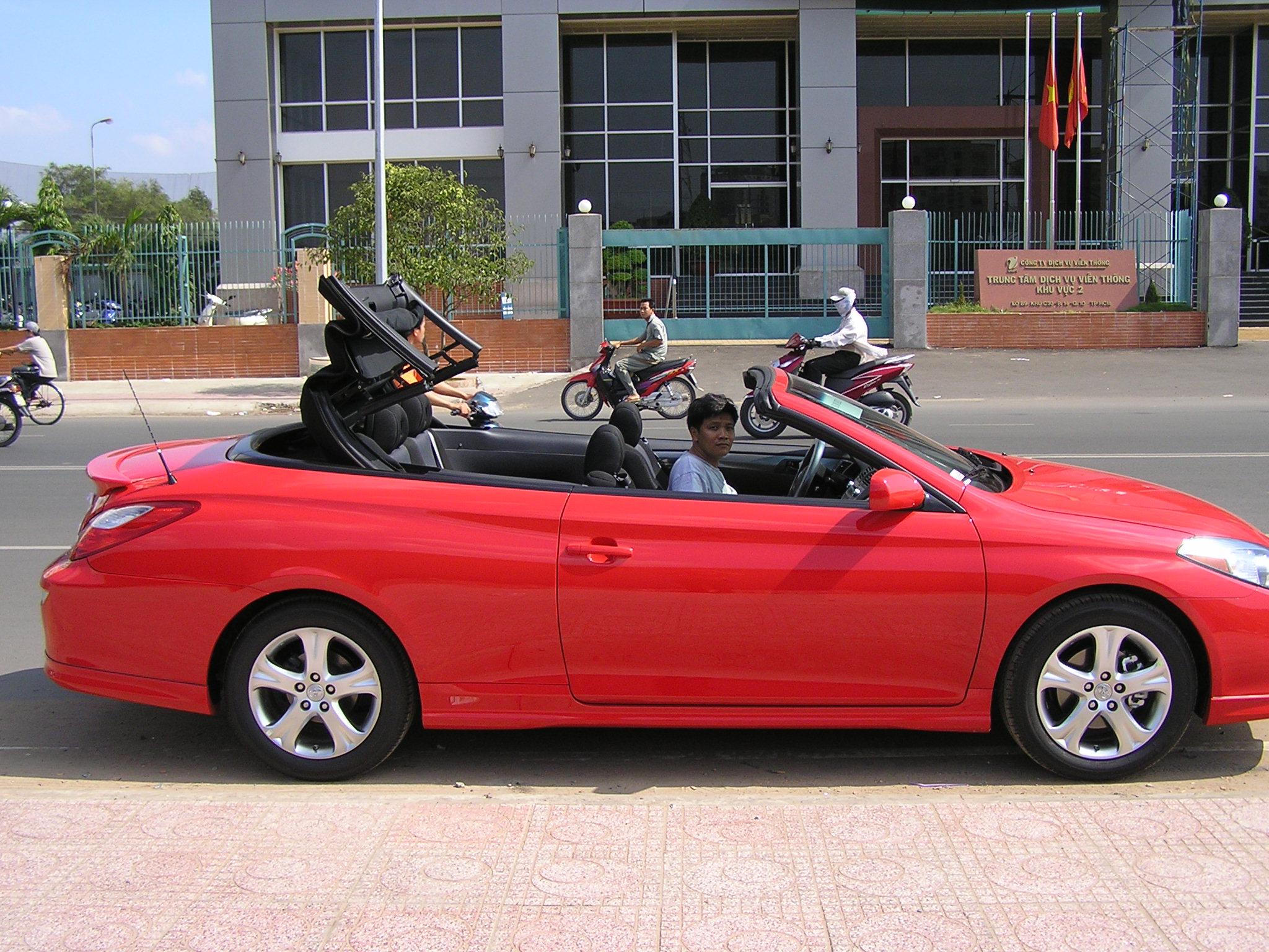 Toyota mui trần sang chảnh hàng hiếm Solara Sport 3.3L_3