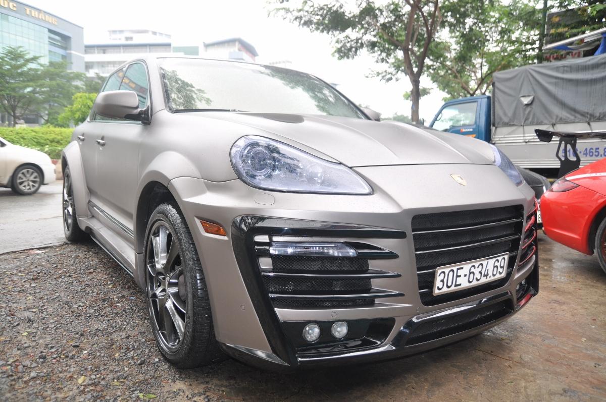 Dân chơi Việt bỏ 500 triệu đồng tạo dáng cực đỉnh cho Porsche Cayenne_1