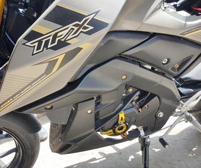 Nakedbike Yamaha TFX 150 thu hút ánh nhìn với dàn phụ kiện đẹp nhất hiện nay_12