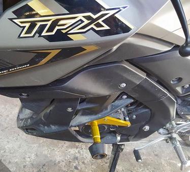 Nakedbike Yamaha TFX 150 thu hút ánh nhìn với dàn phụ kiện đẹp nhất hiện nay_4